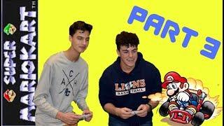 LNN Let's Play Super Mario Kart | Part 3