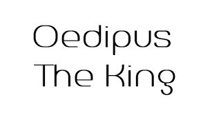 Oedipus The King Trailer