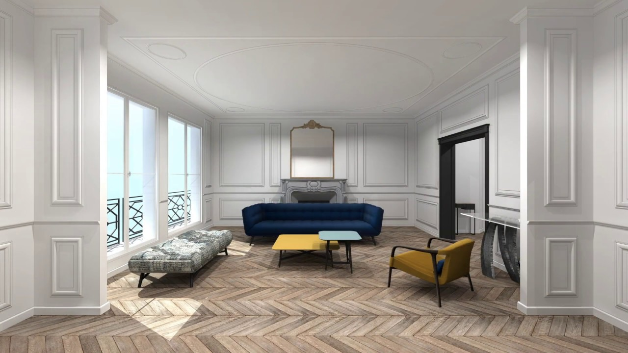 Roche Bobois Paris 7 projets 3d / 3d projects - roche bobois 2019