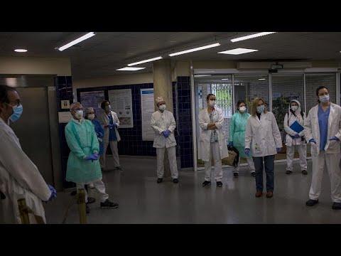 Coronavirus en Espagne: légère baisse du nombre de décès
