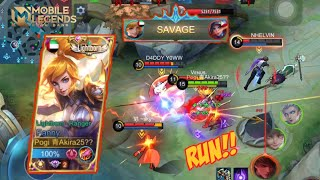 Fast Hand Fanny?! Auto SAVAGE! Solo Ranked Gameplay! || MOBILE LEGENDS BANG BANG