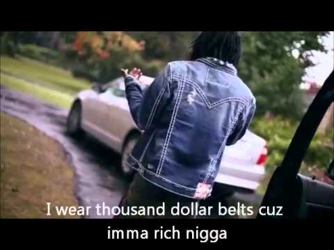 Chief Keef- Love No Thotties  (With Lyrics On Screen) shot by AZaeProductions