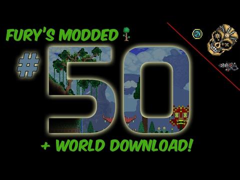 Fury's Modded Terraria | 50: World Showcase and Lihzahrds!