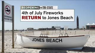 Fouth of July fireworks to return to Jones Beach