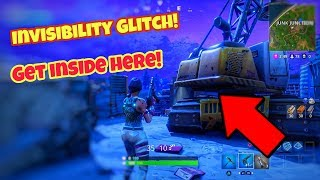 Fortnite battle Royale glitch (become invisible) after new map update PS4/Xbox one
