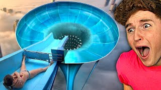 This water slide should be shut down..