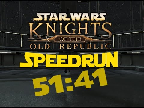 Knights of the Old Republic Any% Speedrun - 51:41 [Former World Record]