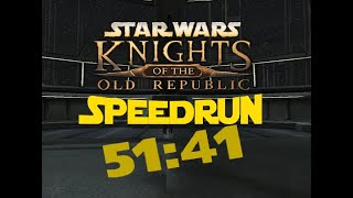Knights of the Old Republic Any% Speedrun - 51:41 [World Record]