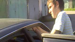 видео Перетяжка потолка AUDI 80 карпетом 3