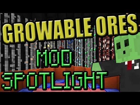 Minecraft Mod SpotLight GROWABLE ORES 1.6.2