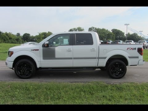 SOLD.2012 FORD F-150 SUPERCREW FX4 APPEARANCE 3.5 LOADED UP AT FORD OFMURFREESBORO 888-439-8045