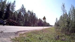 Motorrad in Lappland Finnland (5)