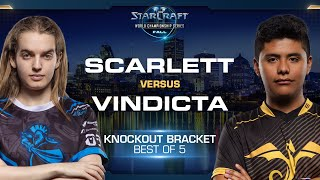 Scarlett vs Vindicta ZvT - Knockout Round #6 - WCS Fall 2019 - StarCraft II