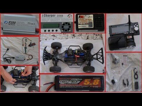 Traxxas Slash Platinum 6804R recommended accessories & how to install video
