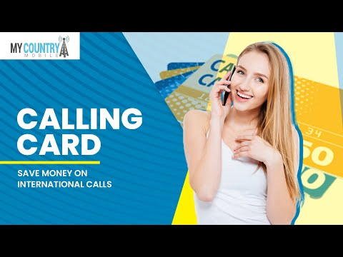 Calling Cards | Cheap Rates | Pin-less | My Country Mobile |