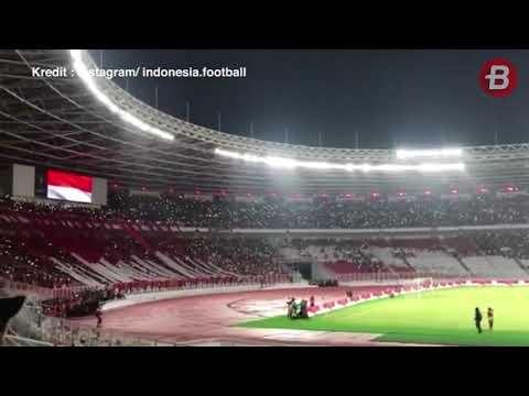 Merinding! Indonesia Raya Kembali Berkumandang di SUGBK