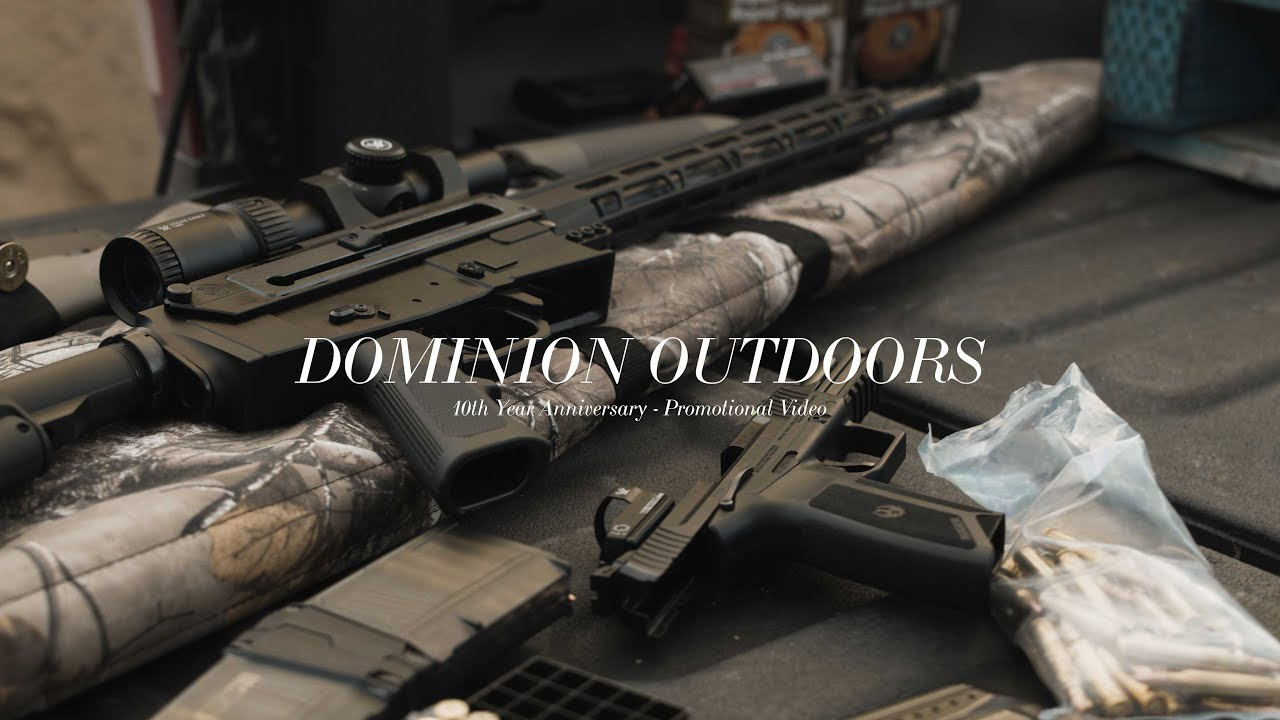 Dominion Outdoors // 10TH ANNIVERSARY PROMO