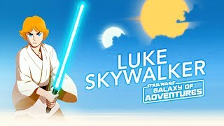 Luke Skywalker - The Journey Begins   Star Wars Galaxy of Adventures