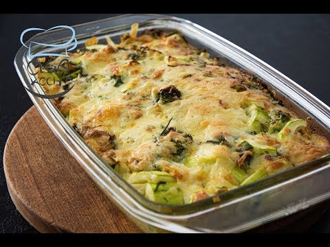 Zucchini Casserole Gratinated with Gouda Cheese | recipe from YouTube · Duration:  5 minutes 13 seconds