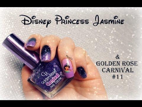 Disney Princess Jasmine & Golden Rose Carnival #11