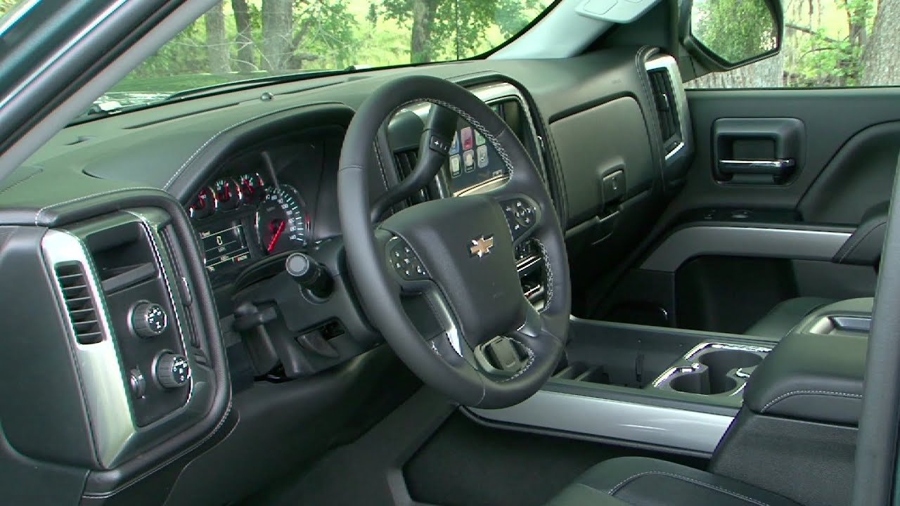 2014 Chevy Silverado Interior Youtube