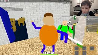 Playing Baldi's Basic Roblox Live !