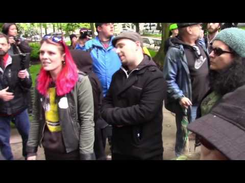 ANTIFA Member Gets Knocked Out By Conservative In Portland