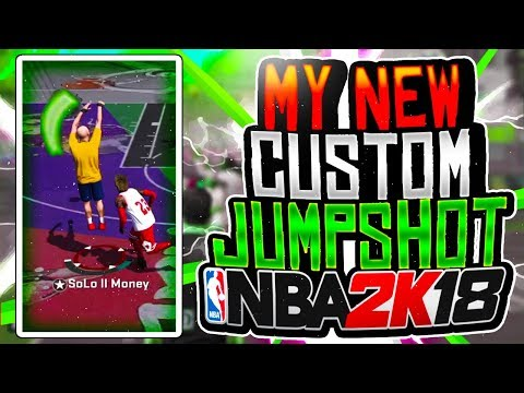 NBA 2K18 NEW CUSTOM JUMPSHOT! | BEST JUMPSHOT FOR GREENS! | ANY ARCHETYPE!