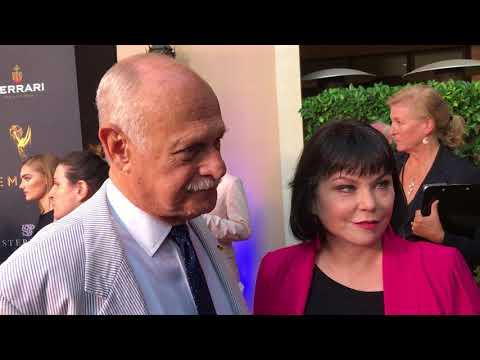 Gerald McRaney 'This Is Us' chat on the 2017 Emmy nominee performer reception red carpet.