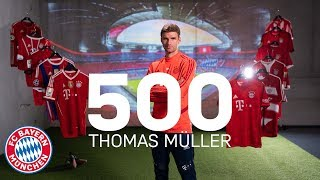 Thomas Müller on his best Moments for FC Bayern! | 500 Competitive Appearances