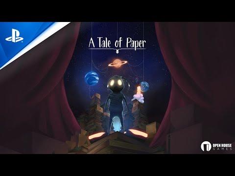 A Tale of Paper - Tráiler PS4 en ESPAÑOL   PlayStation España