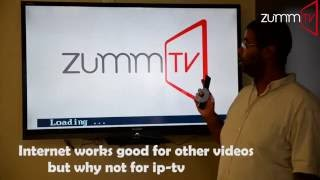 UVCONN  Why internet Work goods on videos But Not Ip-Tv?