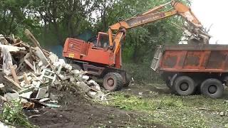 видео Разбор и вывоз старых деревянных домов Барнаул — MirStroek.Ru