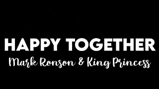 (1 HOUR) Mark Ronson, King Princess - Happy Together (From Lucifer Season 5)