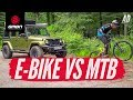 Chris Vs Blake | Trail Vs E-Bike Game Of Bike!
