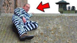 Hapishane Kaçarken Kameralara Yakalanan 5 iNSAN