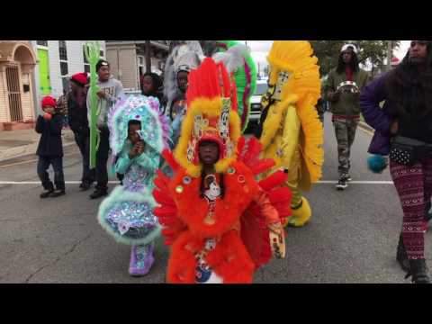 Kids Nation Peace March/ Keep N It Real Second Line Parade