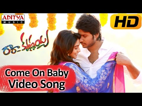Come On Baby Full Video Song    Ra Ra Krishnayya Movie    Sundeep Kishan, Regina Cassandra