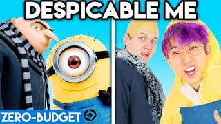 DESPICABLE ME WITH ZERO BUDGET! (Minions Despicable Me MOVIE PARODY)