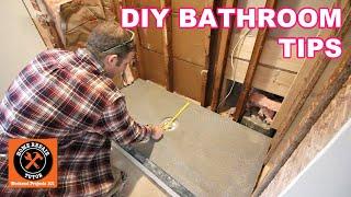 DIY Bathroom Remodeling   10 Small Bathroom Renovation Tips