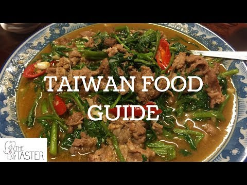 The Tiny Taster   TinyXTaiwan   Taiwan Food Guide   Taiwan Street Food