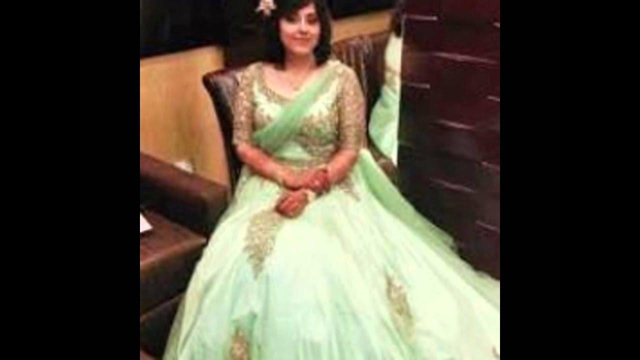christian wedding gowns in delhi - YouTube
