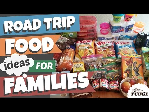 Road Trip Snacks + Meals || IDEAS for FAMILIES || Healthy + Gluten Free FOOD