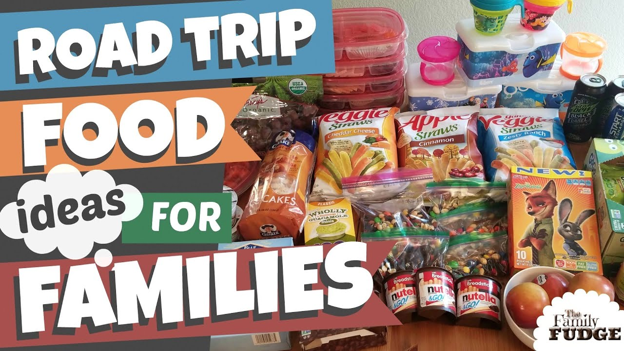Road Trip Snacks Meals Ideas For Families Healthy Gluten