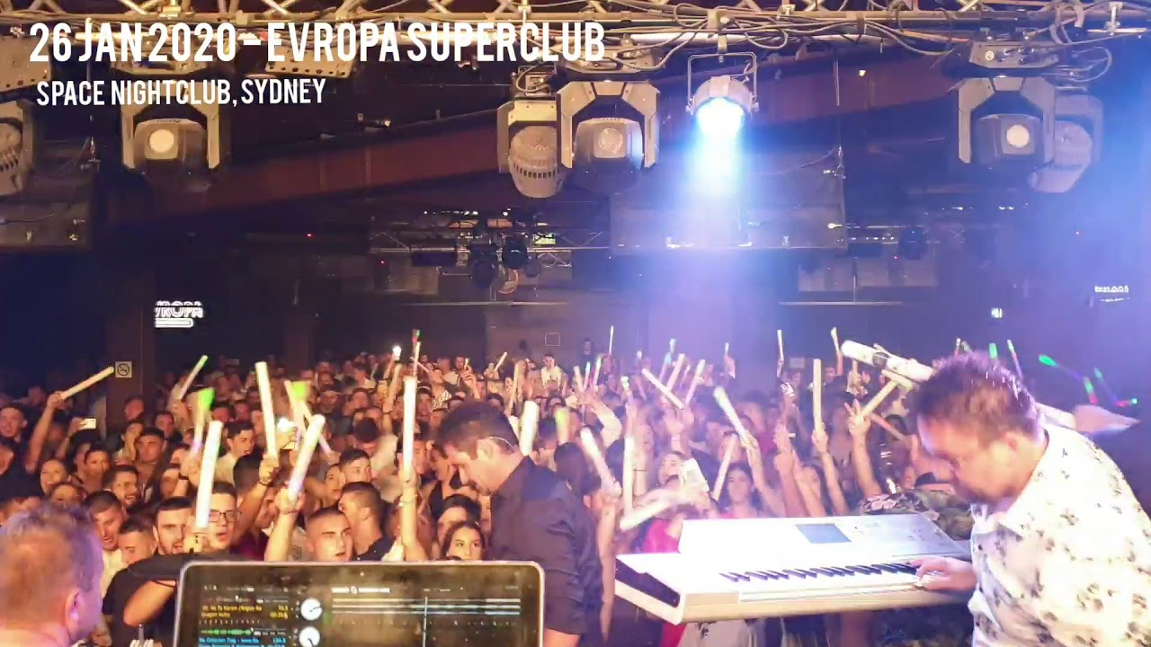 EVROPA Superclub | SPACE Nightclub | Orbiti