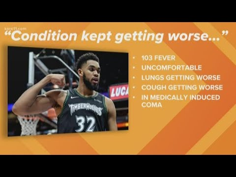 Both of Karl-Anthony Towns' parents now have coronavirus