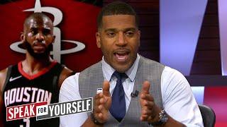 Jim Jackson on Houston dropping Game 1 and Cleveland's chances in Game 2 | NBA | SPEAK FOR YOURSELF