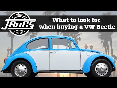 JBugs - What To Look For When Buying A VW Beetle