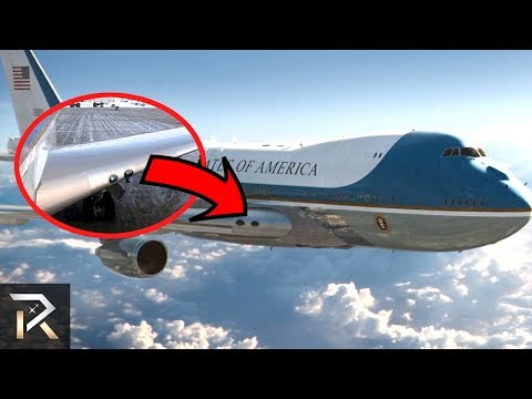 See The Things You Didn't Know About Air Force One!