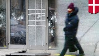 Denmark shootings: suspect gunned down by police hours after killings at Copenhagen synagogue